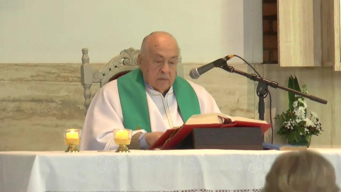 Padre Aldo Scotto S.J viaja a su nuevo destino.