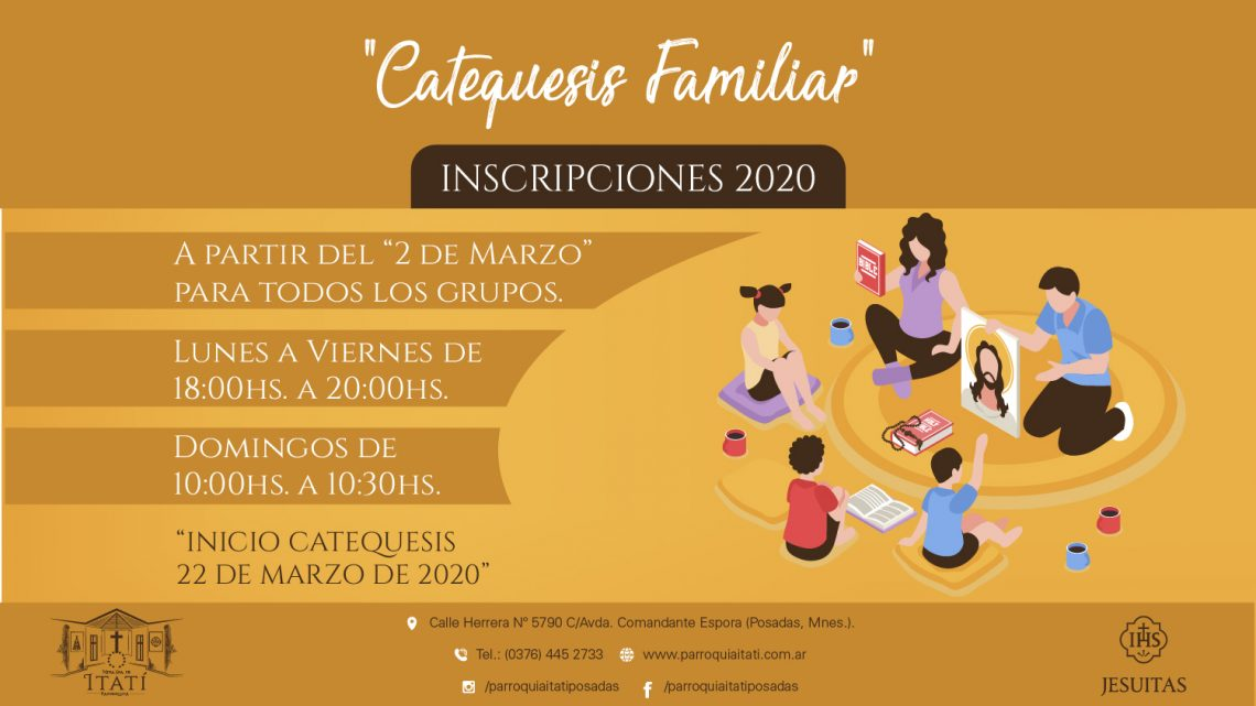 Catequesis Familiar 2020